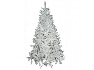 Άσπρο Ιριδίζον Χριστουγεννιάτικο Δέντρο 2,10 White Iridiscent - 11637