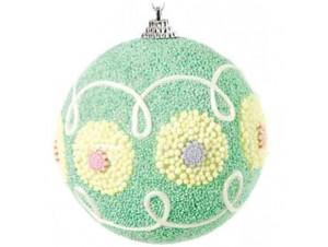 Παιδική Χριστουγεννιάτικη πολύχρωμη μπάλα άθραυστη