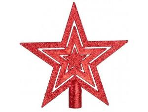 Κορυφή δέντρου Αστέρι Κόκκινο