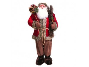Χριστουγεννιάτικος διακοσμητικός Αγ.Βασίλης 122 εκ