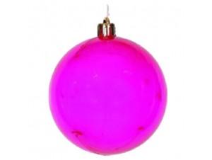 Μωβ-ροζ Χριστουγεννιάτικη Μπάλα