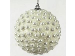 Χριστουγεννιάτικη άσπρη μπάλα
