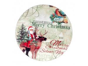 Χριστουγεννιάτικη Πιατέλα