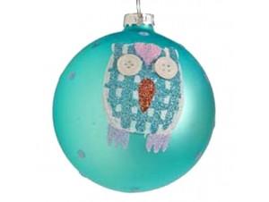 Παιδική Πολύχρωμη μπάλα γυάλινη