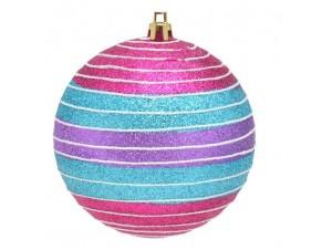Χριστουγεννιάτικη πολύχρωμη μπάλα