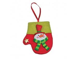 Χριστουγεννιάτικο γαντάκι στολίδι 11627