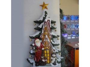 Χριστουγεννιάτικο σπιτάκι φωτιζόμενο 120x80x40 εκ.