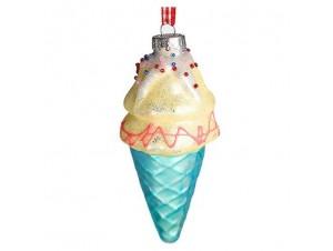 Χριστουγεννιάτικο ζαχαρωτό στολίδι παγωτό