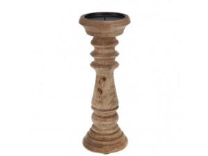 Κηροπήγιο ξύλινο