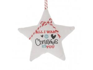 Χριστουγεννιάτικο τσόχινο στολίδι