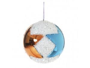 Χριστουγεννιάτικη μπάλα με αστέρια