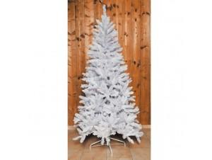 Άσπρο Χριστουγεννιάτικο Δέντρο 2,10m