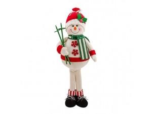 Χριστουγεννιάτικη Λούτρινη Φιγούρα 51 εκ.