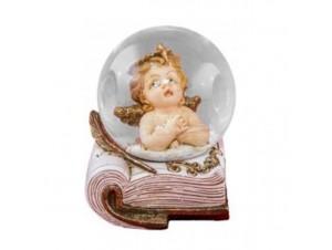 Χριστουγεννιάτικη Χιονόμπαλα Βιβλίο Αγγελάκι