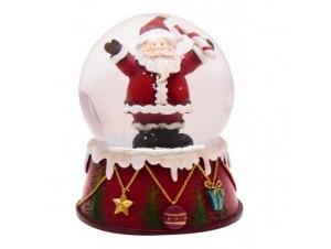 Χριστουγεννιάτικη Χιονόμπαλα με ελληνικά κάλαντα
