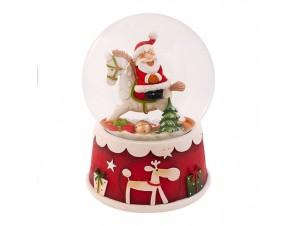 Χριστουγεννιάτικη Χιονόμπαλα με μουσική
