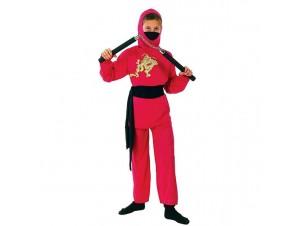 Αποκριάτικη στολή Κόκκινος Νίντζα
