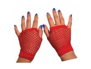 Αποκριάτικο αξεσουάρ Γάντια διχτυωτά, 6 χρώματα