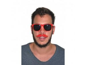 Αποκριάτικο αξεσουάρ Γυαλιά με Μουστάκι, 2 χρώματα