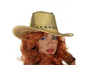 Αποκριάτικο καπέλο Καουμπόι με πούλιες