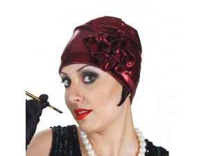 Αποκριάτικο καπέλο Φλάπερ-Τσάρλεστον