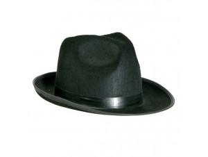 Αποκριάτικο καπέλο Μαφίας Τσόχινο 57cm