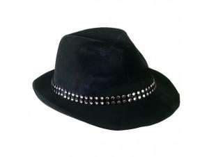 Αποκριάτικο καπέλο καβουράκι με Στρας