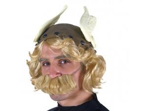 Αποκριάτικο καπέλο ΑSTERIX με μαλλιά και μουστάκι