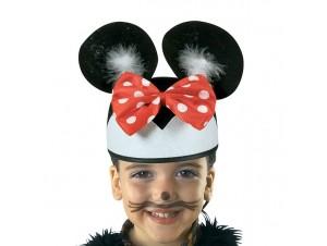 Αποκριάτικο παιδικό καπέλο Ποντικούλα