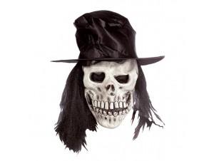 Latex μάσκα Χάρου με καπέλο