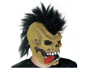Latex μάσκα Πανκ, με φως (Οπτική Ινα)