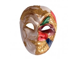 Βενετσιάνικη Μάσκα προσώπου Αρλεκίνος