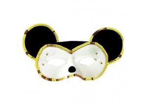 Αποκριάτικη Μάσκα Ματιών Ποντικός -Ποντικίνα