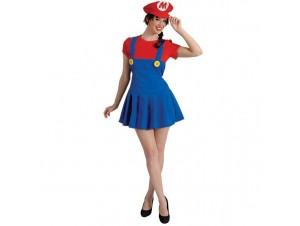 Αποκριάτικη στολή Super Mario Γυναίκα