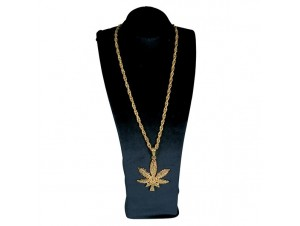 Αποκριάτικo κολιέ Μαριχουάνα
