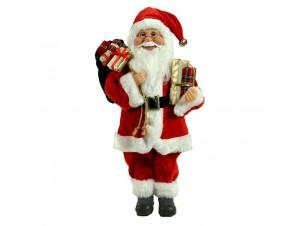 Άγιος Βασίλης Όρθιος με δώρα 80 εκ