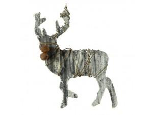 Χριστουγεννιάτικο Ξύλινο Στολίδι Τάρανδος