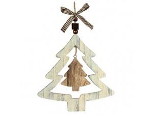 Χριστουγεννιάτικο Ξύλινο Στολίδι