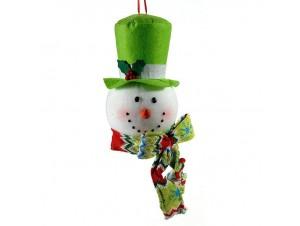 Χριστουγεννιάτικο Στολίδι Χιονάνθρωπος
