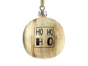 Χριστουγεννιάτικη Μπάλα Ξύλινη