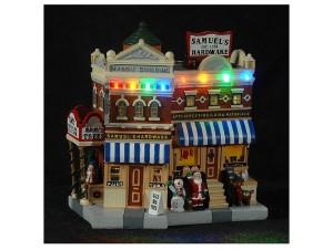 Χριστουγεννιάτικο φωτιζόμενο Σπιτάκι 20x11x21 εκ.