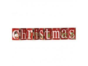 Χριστουγεννιάτικη Διακοσμητική Ταμπέλα 74 εκατοστά