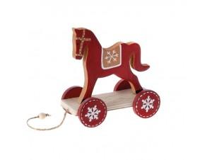 Χριστουγεννιάτικο Διακοσμητικό Αλογάκι