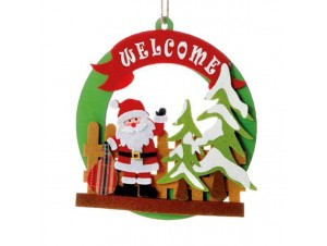 Χριστουγεννιάτικο Στολίδι Υφασμάτινο