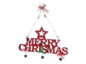 Χριστουγεννιάτικο Διακοσμητικό MERRY CHRISTMAS