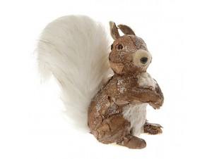Χριστουγεννιάτικο Διακοσμητικό Ζωάκι-Σκίουρος