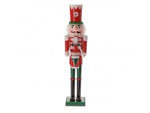 Χριστουγεννιάτικο Διακοσμητικό Βιτρίνας Καρυοθραύστης 180 εκ