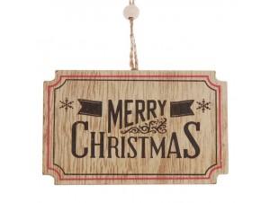 Χριστουγεννιάτικο Οικολογικό Στολίδι 10 εκ.