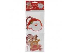 Σετ Χριστουγεννιάτικες Ευχετήριες Κάρτες 10 εκ