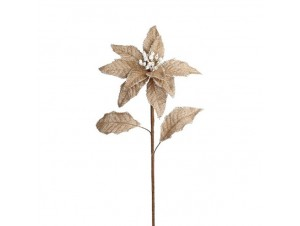 Χριστουγεννιάτικο Λουλούδι διακόσμησης 62 εκ
